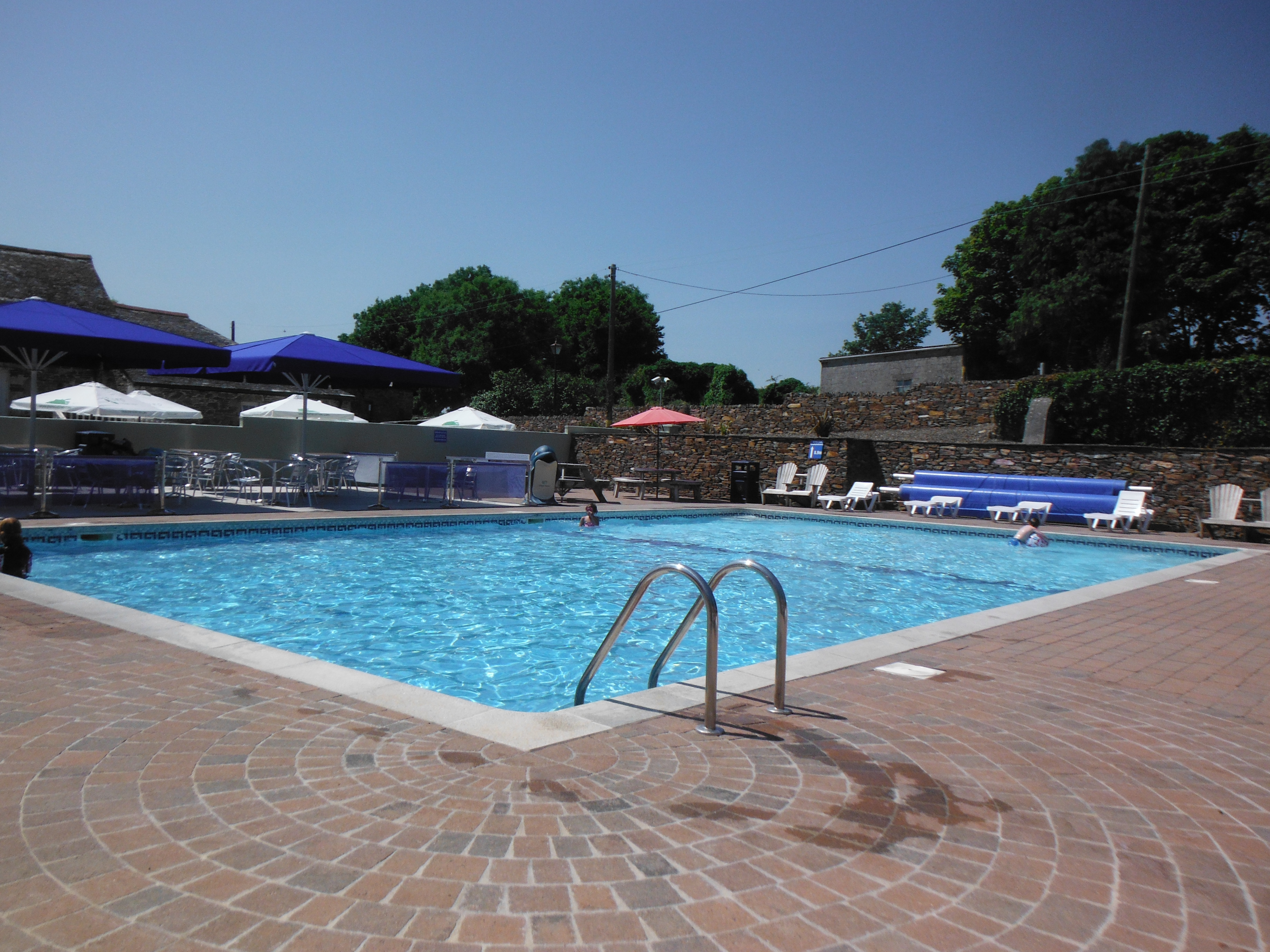 Swimming Pools Camping Site With Swimming Pools Cornwall